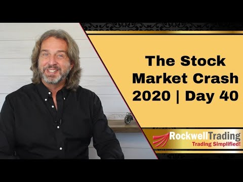 The Stock Market Crash 2020 – Day 40 | Crude Oil Futures Makes Historical Plunge