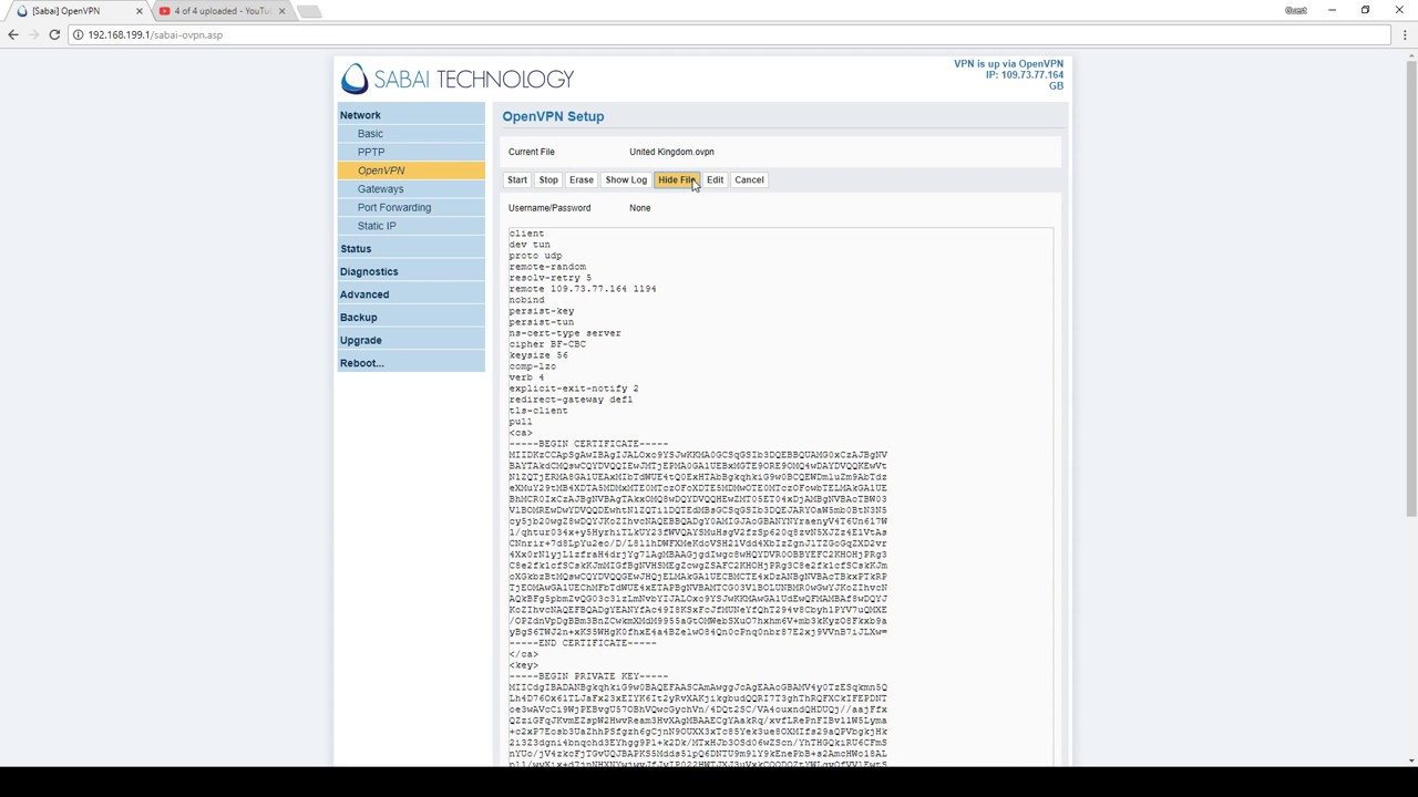 VPN Router Setup