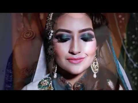 Zoebia Majeed mua ,Asian  Pakistani nikkah bridal makeup 2016