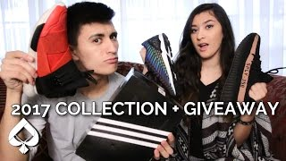 My Sister ROASTS Adidas Sneaker Collection!