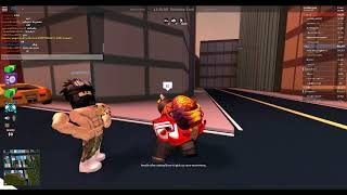Roblox Jailbreak - Trying to give cops Ls