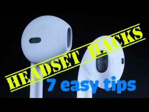 Headset Hacks🤙 | Earphone Hacks👍| Life Hacks🏃♂️ | 5 Minutes Crafts💕 |  Zone 4