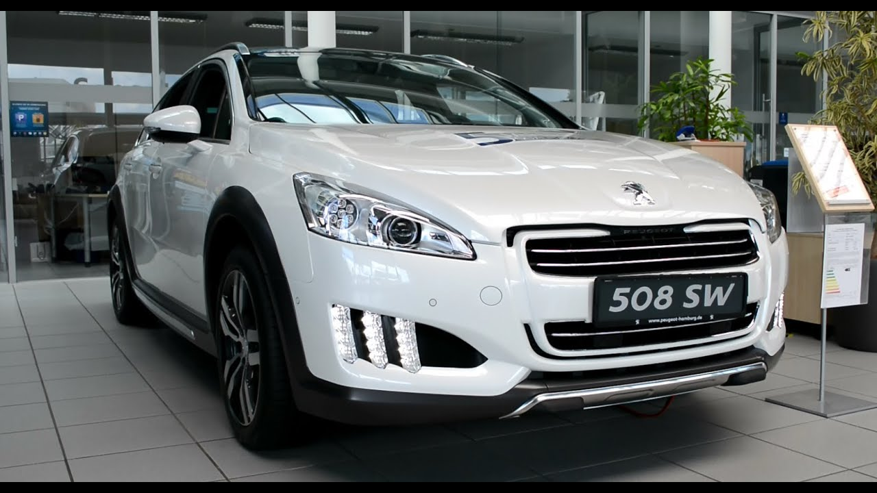2014 new peugeot 508 rxh exterieur and interior