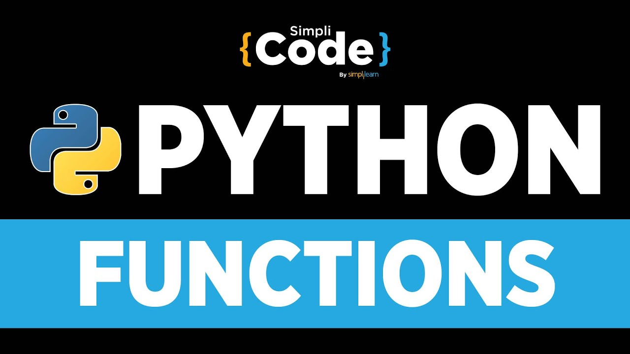 Python Tutorial For Beginners | Functions In Python | Python Functions For Beginners