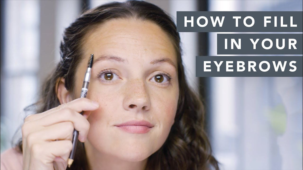 How To Fill In Patchy Eyebrows Makeup Tutorial Wellgood Youtube