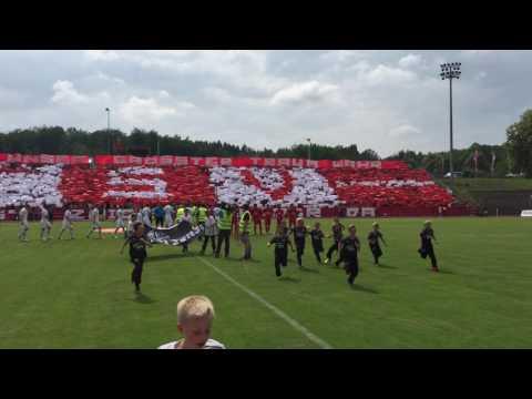 Choreo FSV Zwickau - SV Elversberg [Relegation zur 3. Liga - Rückspiel]