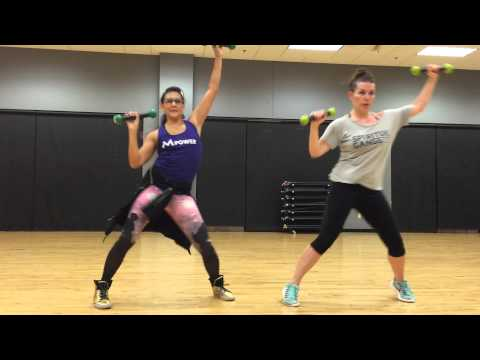 Control by Wisin feat. Pitbull & Chris Brown  Zumba Toning with ZumbaK8