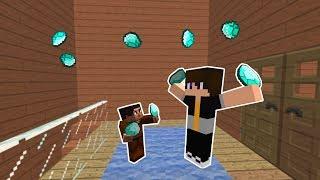 SALİH VE BABASININ KÖTÜ PLANI! 😱 - Minecraft