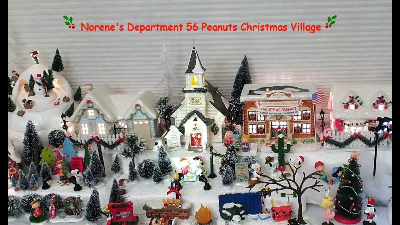 department 56 peanuts christmas village - Department 56 Peanuts Christmas