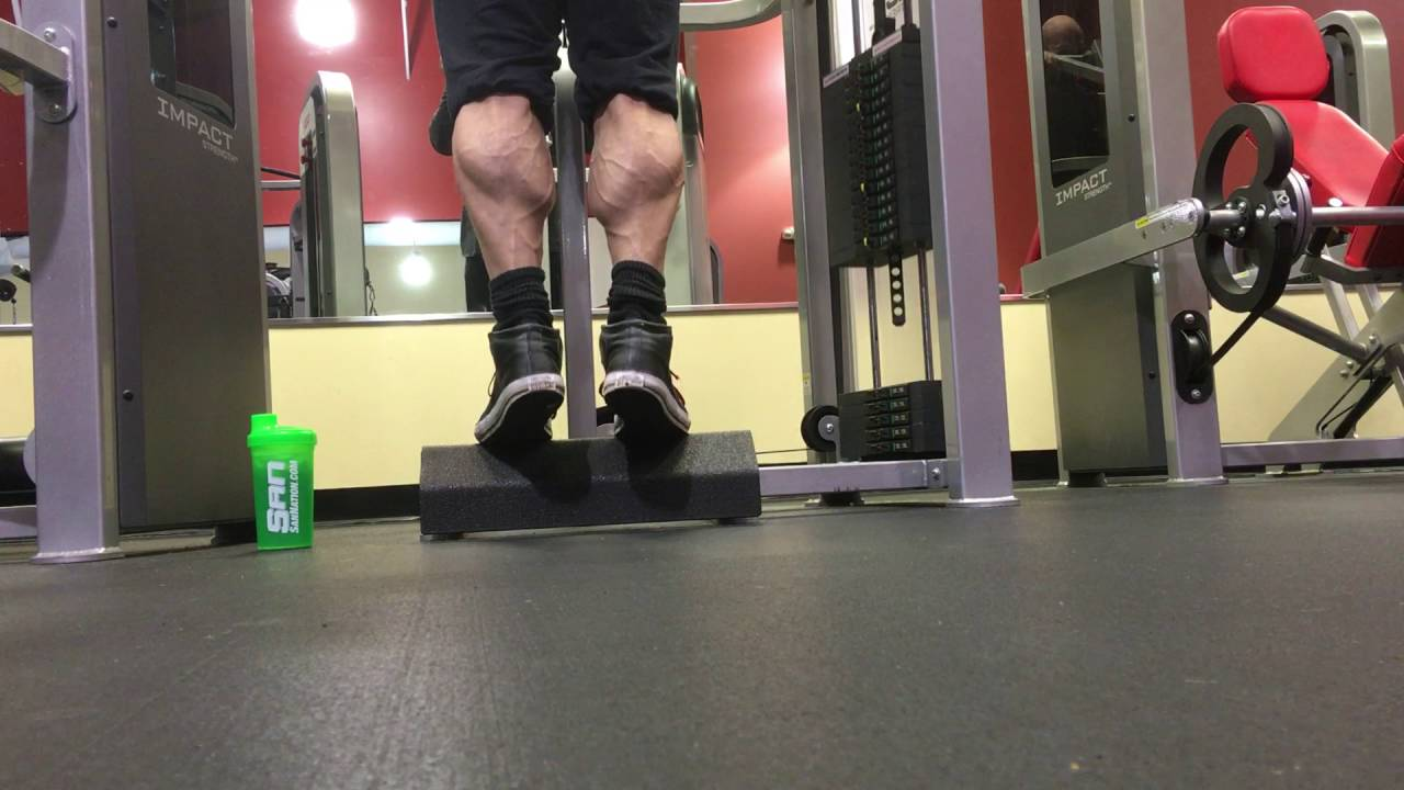 Image result for standing calf raise bodybuilding
