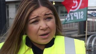 Bus Éireann workers in Broadstone Garage speak out on bus strike
