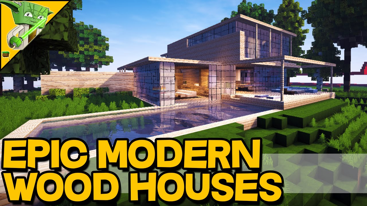 MINECRAFT EPIC WOODEN HOUSES Keralis Inspiration Series YouTube