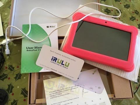 IRULU BabyPad Y1 7 Inch Quad Core Kids Tablet