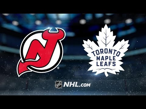 New Jersey Devils Vs. Toronto Maple Leafs | NHL Game Recap | October 11, 2017 | HD