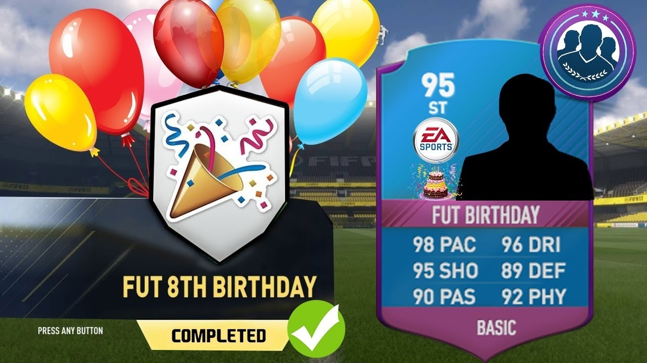 Fut 8ste Verjaardag Aangekondigd 31 Maart Fifa 17 Ultimate Team