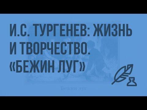 И.С. Тургенев: жизнь и творчество. «Бежин луг». Видеоурок по литературе 7 класс