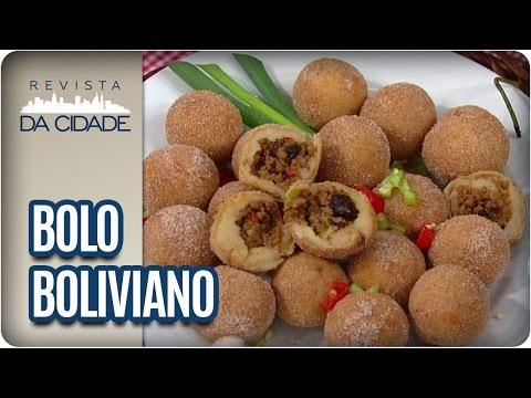 Receita de Bolo Boliviano - Revista da Cidade (14/03/2017)