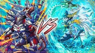 Tachikaze (Gaia) Vs. Aqua Force (Thavas) Cardfight!! Vanguard G