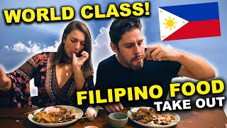 FOREIGNERS try FILIPINO FOOD from Philippines BEST Restaurant for TAKE OUT!