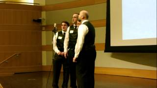 """Our Love Is Here to Stay"" by the Mormon Transhumanist Barbershop Chorus"