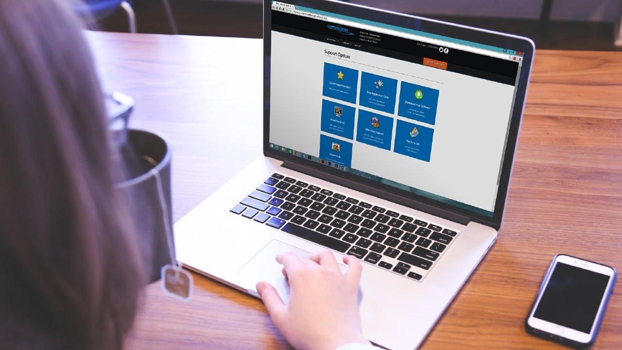 Elegant Envision Help Desk Nice Look