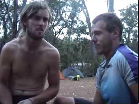 On Ya Bike Tour 2008 - Rob Sawyer and Harvey Scholes. Melbourne to Perth 4600km