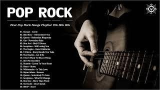Pop Rock Playlist   Best Pop Rock Songs Of 70s 80s 90s