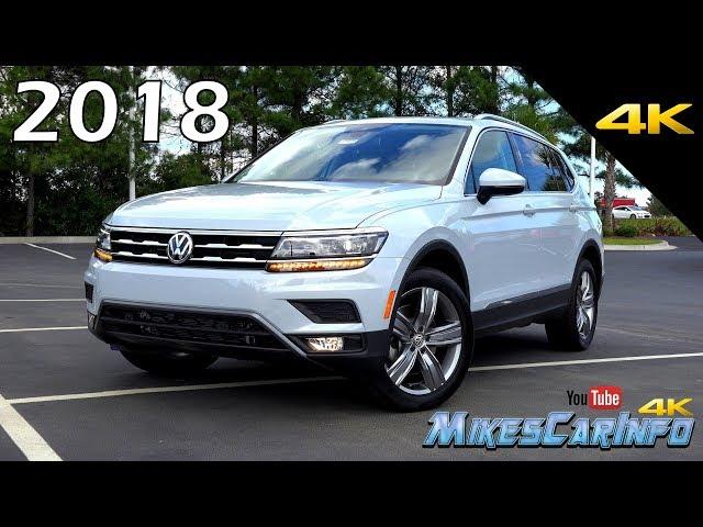 2018 Volkswagen Tiguan SEL Premium - Ultimate In-Depth Look in 4K