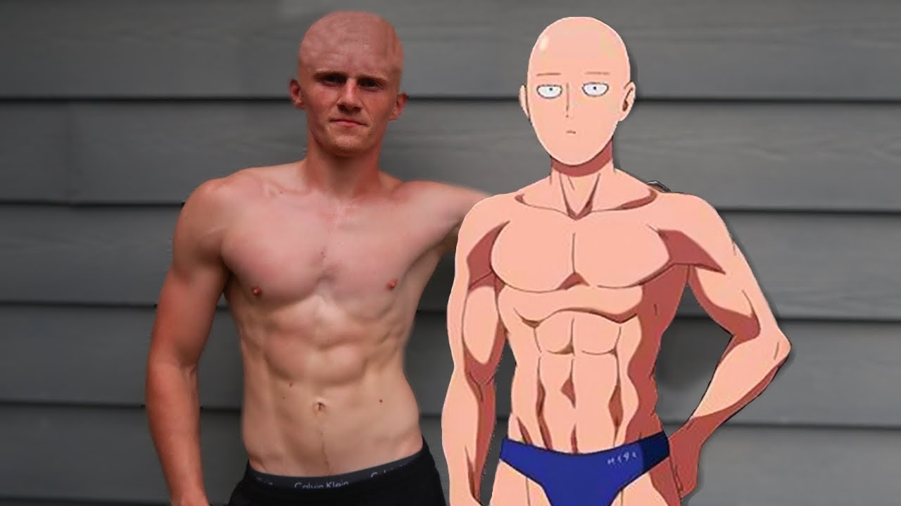Saitama Workout - I tried One Punch Man's Workout | Saitama Challenge - YouTube
