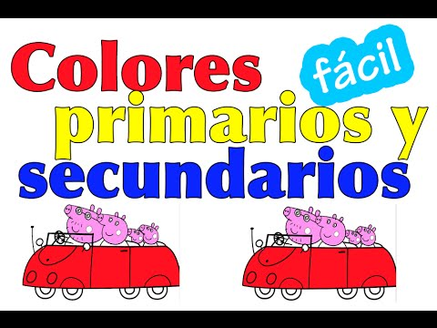 Los colores en español para niños. Aprende los colores con Peppa Pig ...