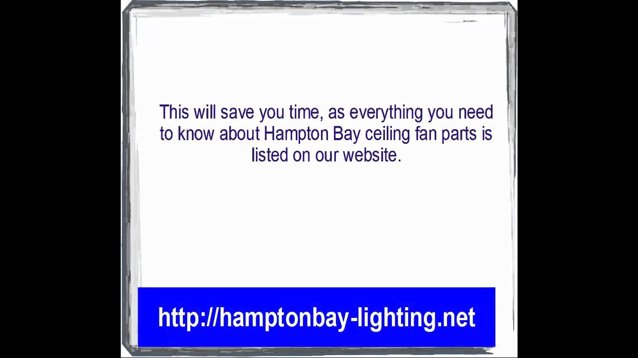 maxresdefault hampton bay ceiling fan parts youtube Hampton Bay Fan Wiring Diagram at gsmx.co