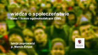 Live lekcja. WOS - klasa 1 LO - międzynarodowy system ochrony praw człowieka