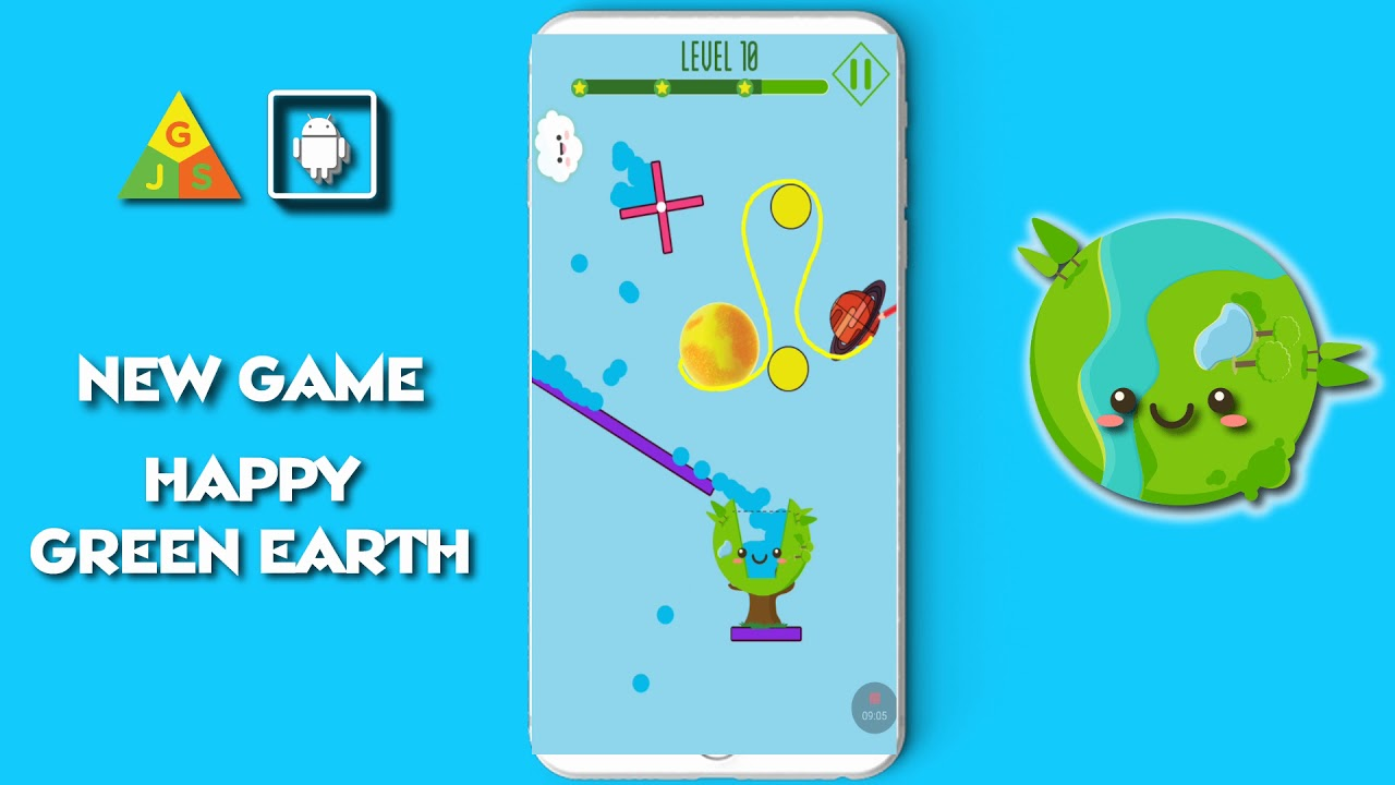Top Mobile Games 2020.Happy Green Earth New Game 2018 2019 2020 Mobile