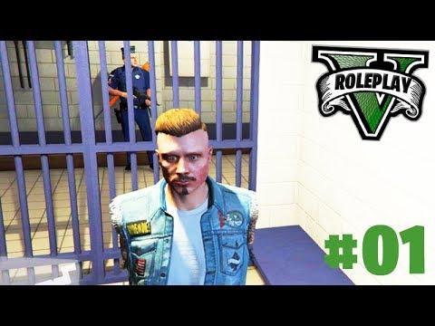 GTA ROLEPLAY - O INICIO na NOVA CIDADE!!! (FUI PRESO?) #01