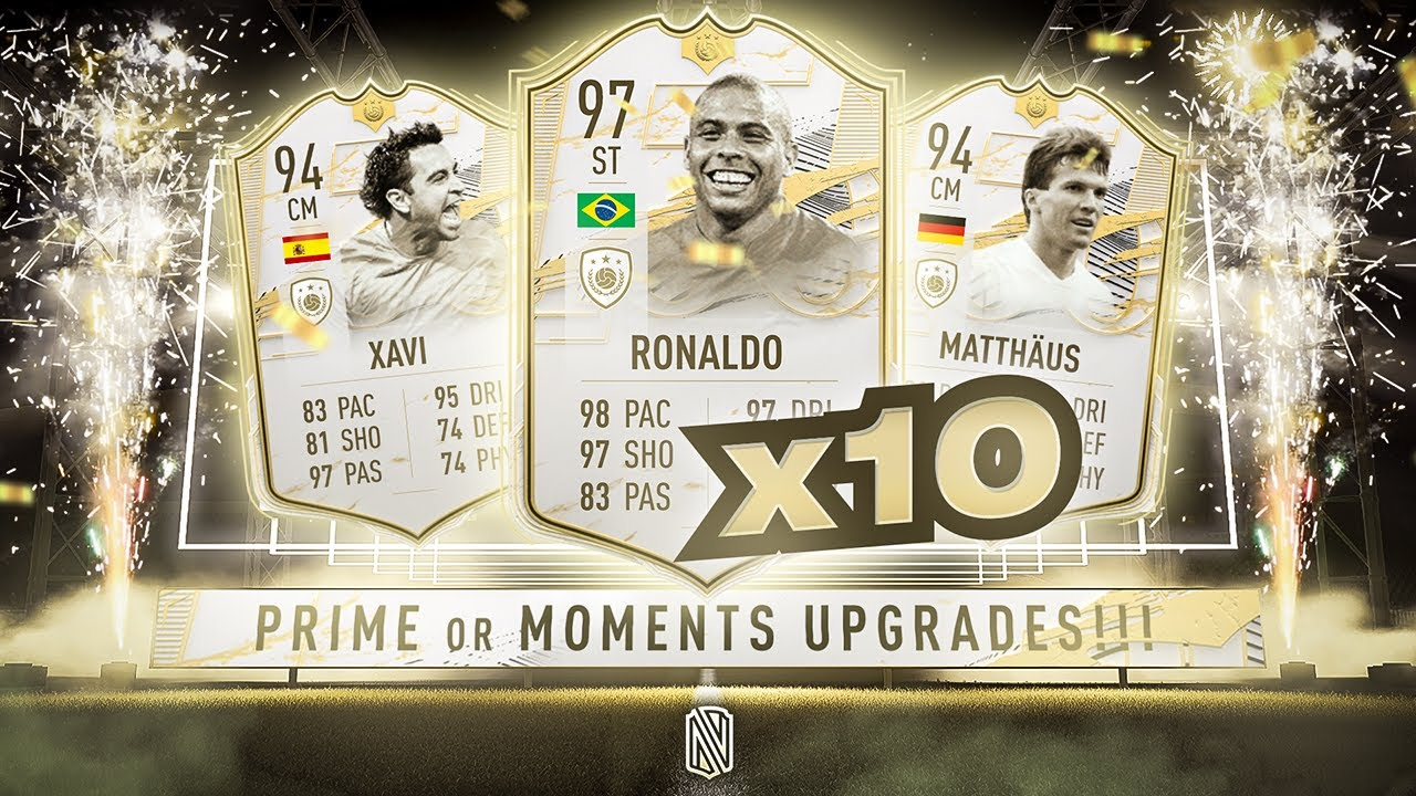 Download 10 x PRIME OR MOMENTS ICON PACKS!!! FIFA 21