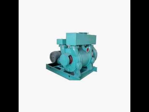 Main features ofliquid ringvacuum pump