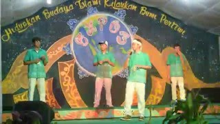 iseng2 nasyid kembali cover from tashiru song live in expo 3 nasyidalmultazam