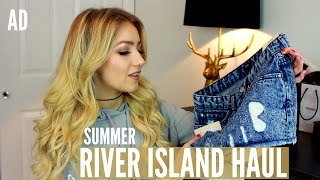 Summer River Island Clothing Haul / AD
