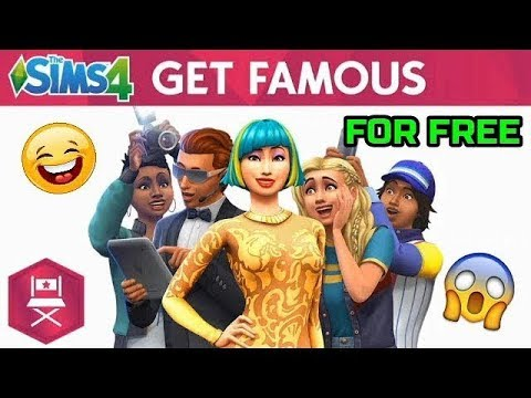 download sims 4 get famous free