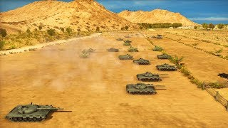 Russian MAIN BATTLE TANKS Engage US  & Japanese Defense Forces | Wargame: Red Dragon Gameplay