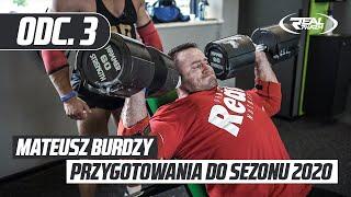 Mateusz Burdzy przygotowanie do sezonu 2020 odc. 3 - trening barków