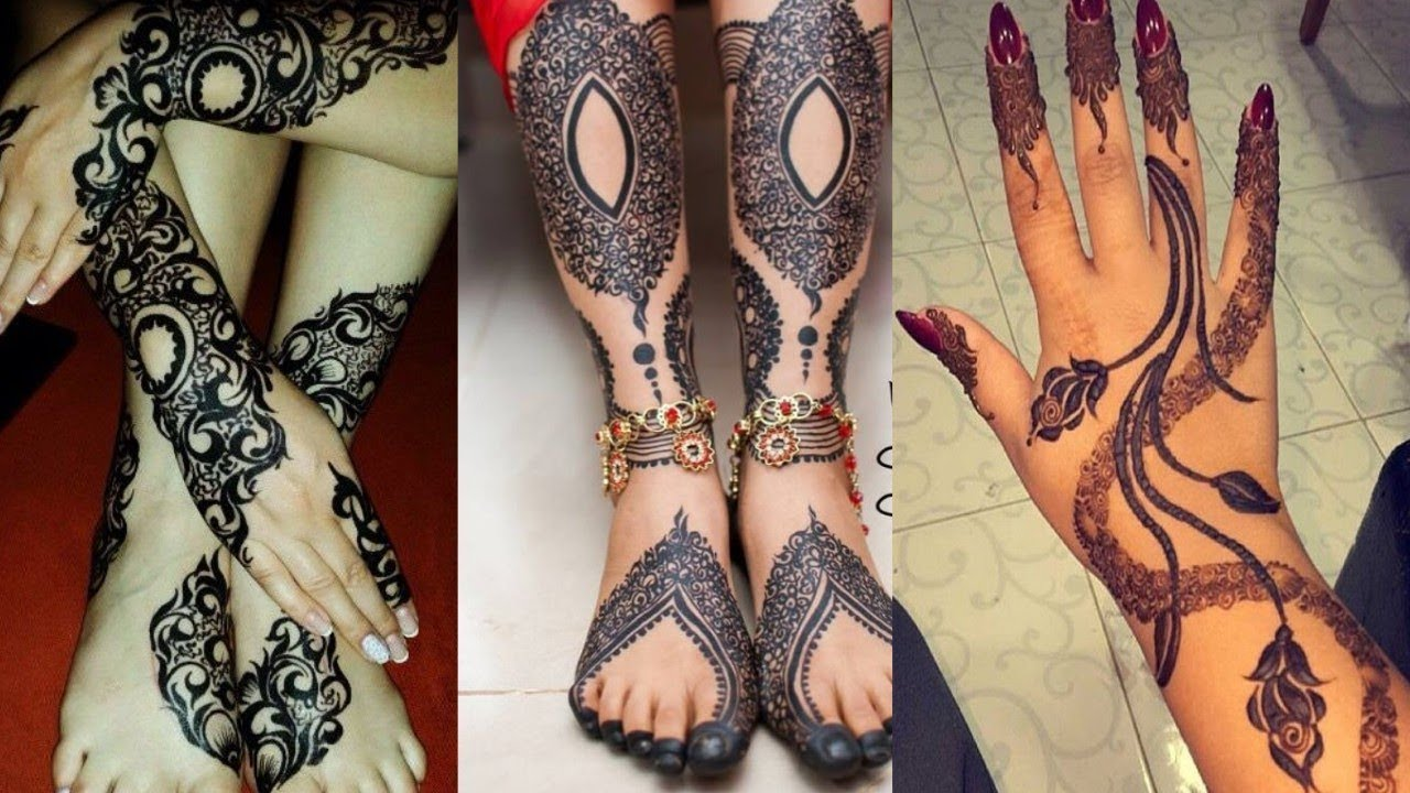 Latest Sudanese Henna Designs 2018 Unique Sudanese Henna Designs