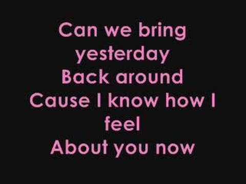 Sugababes- About You Now lyrics