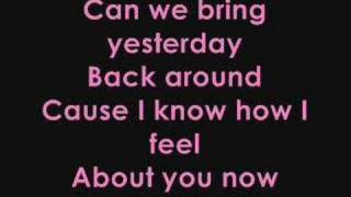 Sugababes- About You Now lyrics