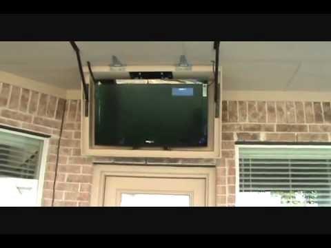 Retractable TV Mount - YouTube