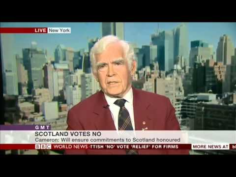 BBC World GMT: Scottish American Reaction Sept 19th, 2014