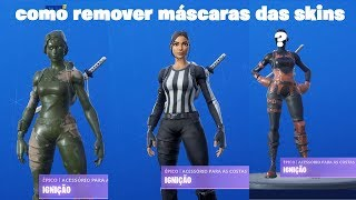 How to remove Fortnite Skin Helmet/Accessories