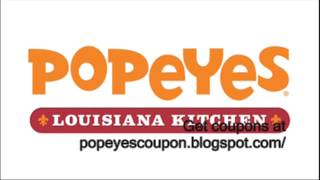 Popeyes Coupons 2013 - Popeyes Printable Coupons