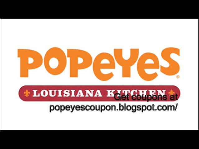 graphic regarding Popeyes Printable Coupons titled Popeyes Printable Discount codes Global of Reference