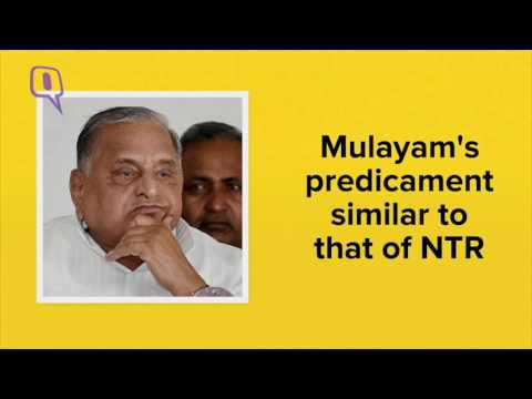 The Quint: NTR in 1995, Mulayam in 2016; How Political Ambitions Fuel a Coup